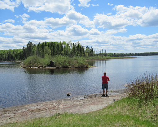 canadian fishing trip, fly-in fishing outpost, fishing camp, ontario